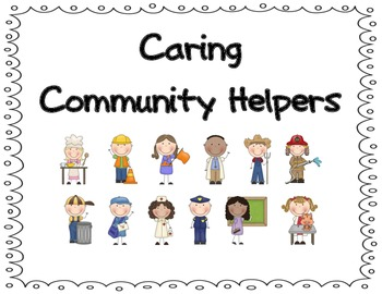 Community Helpers:  Word Wall, Posters & More!