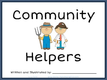 Community Helpers Workbook