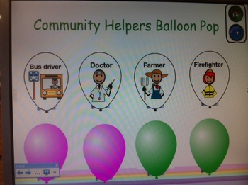 Community Helpers Workers Smart Board Lesson