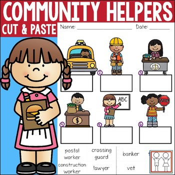 Community Helpers Worksheets By Catherine S Teachers Pay Teachers