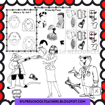 Community Helpers Worksheets and more