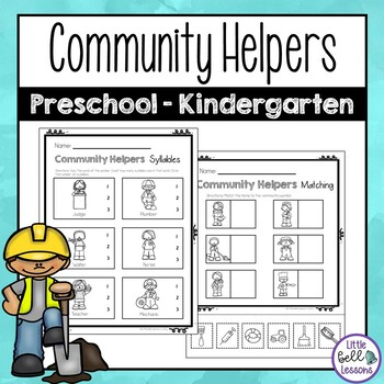 Community Helpers Worksheets For Preschool And Kindergarten Tpt - View Free Printable Community Helpers Worksheets For Kindergarten Pdf Background