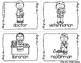 Community Helpers Write the Room - 16 cards four versions, four recording sheets