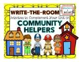 Community Helpers - Write-the-Room Pack