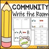 Community Helpers Write the Room (Pre-K)