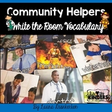 Community Helpers Write the Room Vocabulary