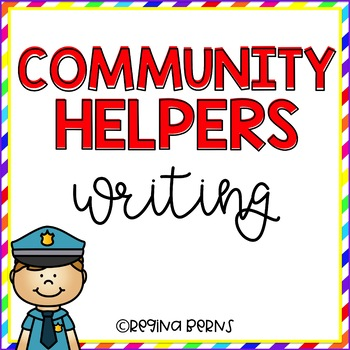 Community Helpers Writing {11 Community Helper Choices}
