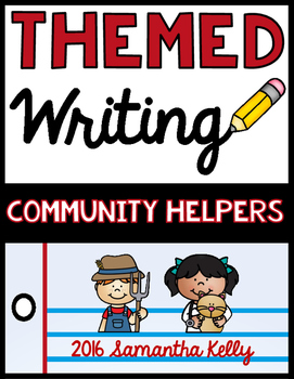 Community Helpers Writing