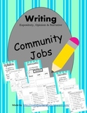Community Helpers-Writing-Informative Opinion Narrative CCSS
