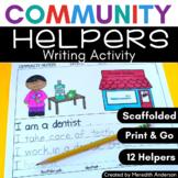 Community Helpers Writing Pack SET 2: 6 Options!