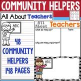 Community Helpers Writing Paper