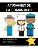 Community Helpers Writing Prompts (Spanish)
