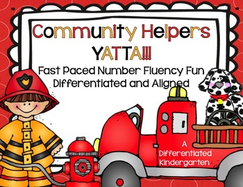 Community Helpers Yatta!!-A Fast Paced, Differentiated Num
