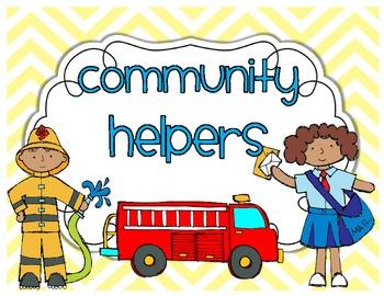 Community Helpers {a mini unit}