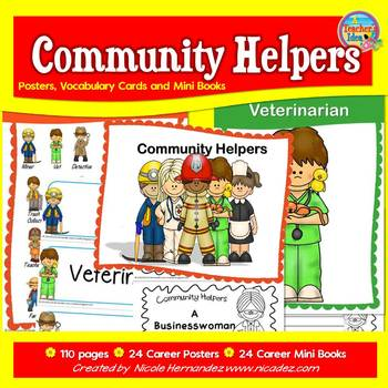 Community Helpers Kindergarten to Grade 2 Resource Pack