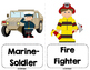 Community Helpers and Careers Vocab Cards
