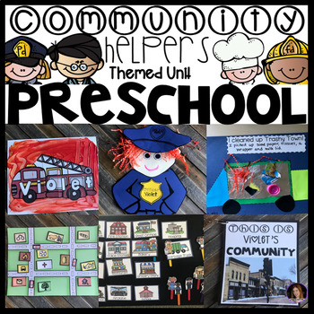 Community Helpers and Fire Safety and Prevention Unit for Preschool