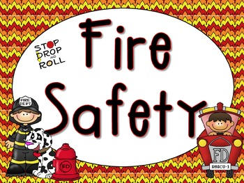 Community Helpers and Fire safety Word Wall