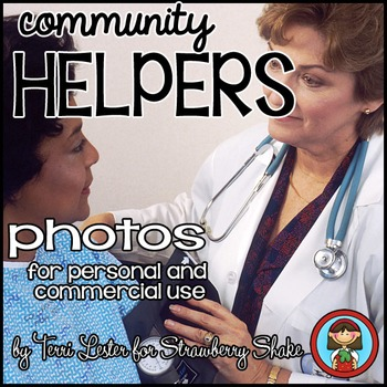Photos Photographs Community Helpers and Other Jobs: Personal and Commercial Use