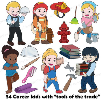 community helpers clip art with props clipart bundle careers and rh teacherspayteachers com cute community helpers clipart community helpers clipart free