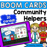 Community Helpers and Their Tools Digital Game Boom Cards