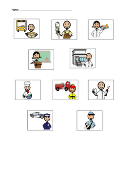 Community Helpers and their Job Description Assessment