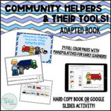 Community Helpers and their Tools! Adapted Book  *Digital