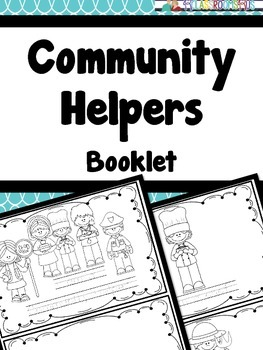 Community Helpers booklet