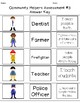 Community Helpers (Adapted Activities and Assessment)