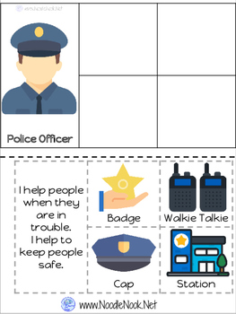 Community Helpers for Older Students (Autism Units & LIFE Skills) with Visuals!