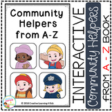 Community Helpers from A-Z Interactive Book