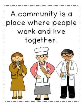 Community Helpers {mini unit}