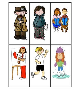 Community Helpers- verbs to nouns