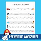 Community Helps Prewriting Worksheet