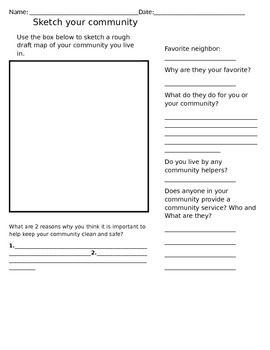 Community Homework Project