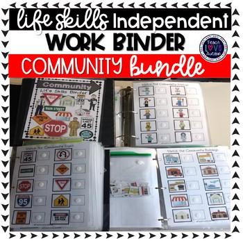 Community Independent Work Task Binder