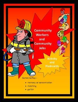 Community Jobs Flashcards