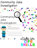 Community Jobs Investigation
