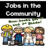 Community Jobs Mini-Books for 1st & 2nd Grade Social Studies