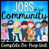 Community Helpers: Complete No-Prep Unit