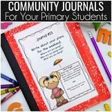 Community Journals Covers for the WHOLE year