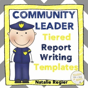 Informative Writing Templates - Community Leaders