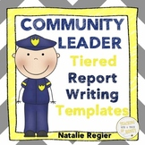 Informative Writing Templates | Community Leaders | Leadership Activities