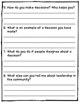 Community Leaders - Report Writing Templates