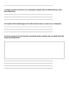 Community Leaders Unit Test