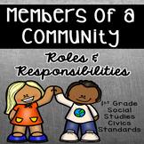 Community Members Roles and Responsibilities **Social Studies**