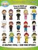 Community Members / Helpers Character Clipart Set 3 {Zip-A-Dee-Doo-Dah Designs}