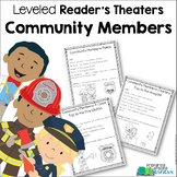 Community Helpers ~ Leveled Reader's Theater