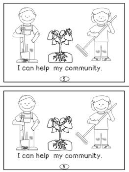 Community Mini-Readers For Primary