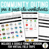 Community Outing CBI Visual Reflection Worksheets